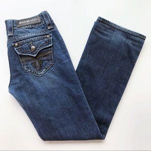 Rock Revival Tori Boot Cut Pocket Bling Jeans